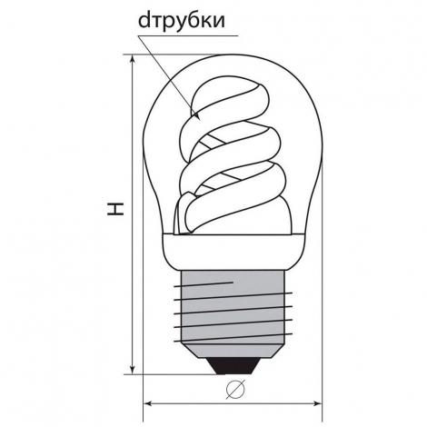 Лампа энергосберегающая ELC82