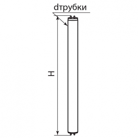 Лампа люминесцентная EST13