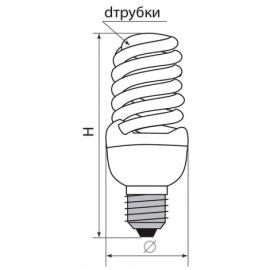 Лампа энергосберегающая ELT19