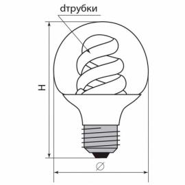 Лампа энергосберегающая ESB120