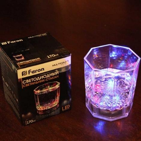 """Светодиодный светильник """"Граненый стакан""""  FL105"""